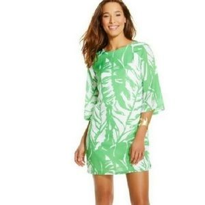 Lilly Pulitzer Boom Boom Green Dress Open Back